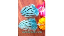 Ladies Feather Earrings