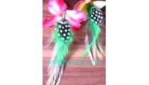 Mix Birds Feather Earrings