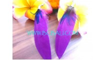 Quill Earrings Handmade