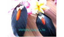 Women Earring By Feather