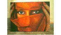 Arabic Woman Face