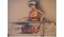 Bali Woman Activity