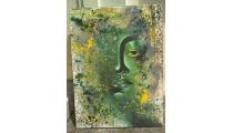 Budha Abstract Face
