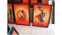 Jamaican Art Design Motif