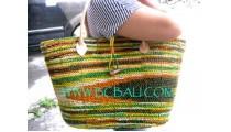 Bali Straw Handbags
