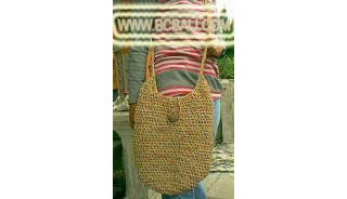 Bandung Straw Woman Handbags
