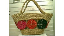 Beach Handbags Straw
