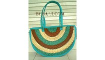 Casual Straw Handbags Colour