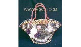 Classic Straw Woman Bag