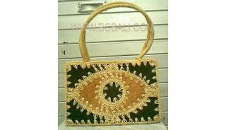 Emboirdery Natural Bag