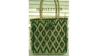 Fashion Straw Handbags Handmade