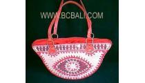 Handbag Fashion Handle Leather