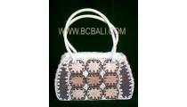 Handbag Fashion Leave Handmade