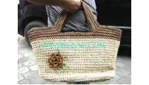 Handmade Handbags From Straw
