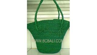 Jogjakarta Straw Handbags