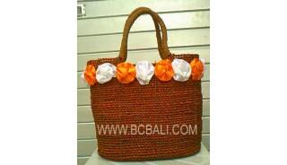 Ladies Fashion Handbags Straw