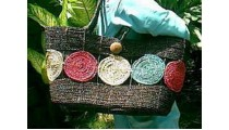 Straw Bags Shopping
