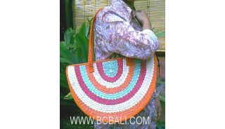Straw Handbags Handmade