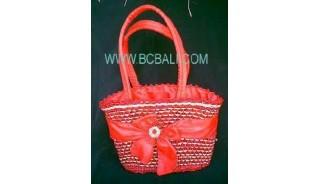 Woman Fashion Handbag Straw