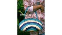 Woman Straw Handbags Bali