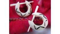 Bone Craft Earring Tattoo