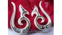 Unique Tribal Bone Earring