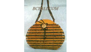 Bamboo Bags Oval