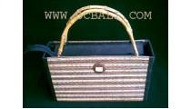 Bamboo Basket Bags