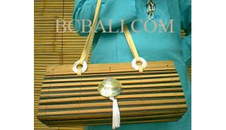 Bamboo Handbags Shell