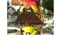Handbags Bamboo Oval