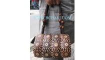 Casual Wooden Handbags Coco