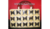 Coconut Bags Airbrush Butterfly