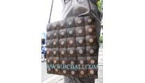 Coconut Carving Casual Handbags