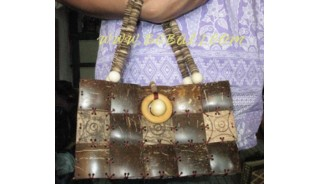 Design Casual Jamaican Wooden Purses