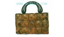 Medium Coco Batik Bags
