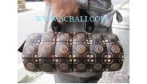 Natural Carving Wooden Bag