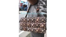 Natural Coconut Carves Handbags
