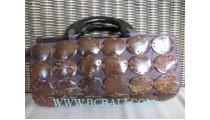 Natural Handbag Coconut