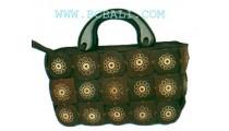 Shopping Coconut Bags Motif
