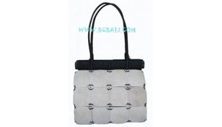 White Coconut Woods Bags