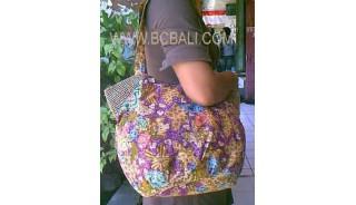 Handmade Batik Handbag Combination