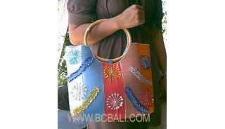 Cotton Beads Bags
