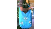 Cotton With Shell Hawaii Handbag