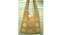 Fashion Handbag Ladies Cotton Emboirdry