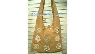 Fashion Handbag Ladies Cotton Emboirdry