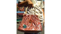 Ladies Bags Cotton Flower
