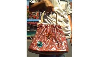 Ladies Bags Cotton Flower