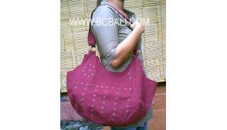 Ladies Canvas Fashion Handbag