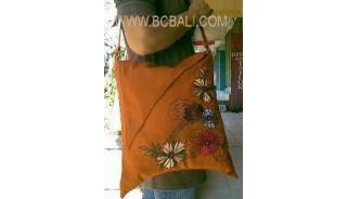 School Bag Canvas Emboirdery