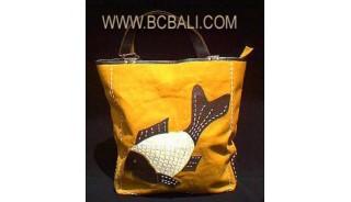 Shopping Handbag Canvas New